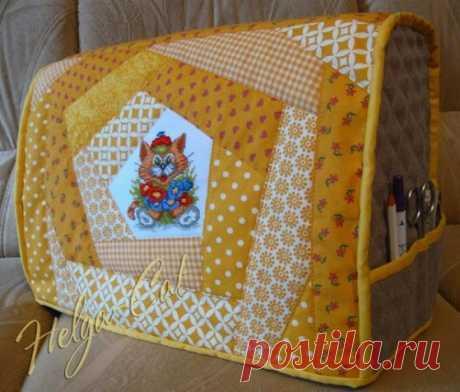 Чехол для швейной машинки - запись пользователя Марина в сообществе Шитье в категории Швейная мастерская