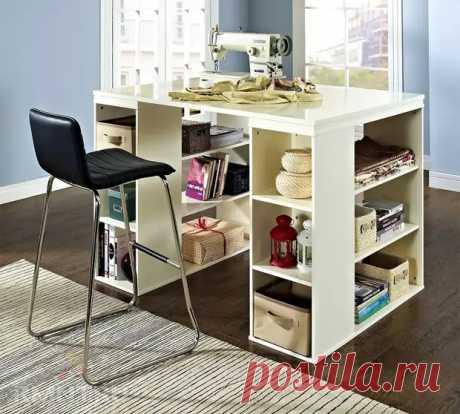 Рабочие столы с местами для хранения - Сам себе мастер - медиаплатформа МирТесен