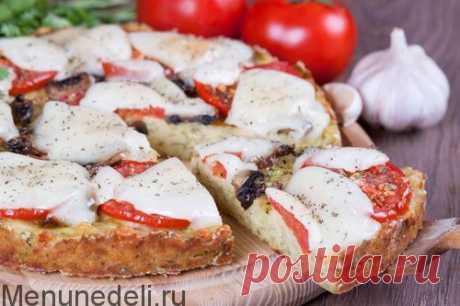 Пицца из кабачков / Меню недели