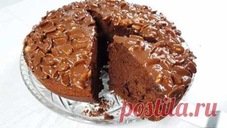 Шоколадный пирог. Смешал, испек – готово!
