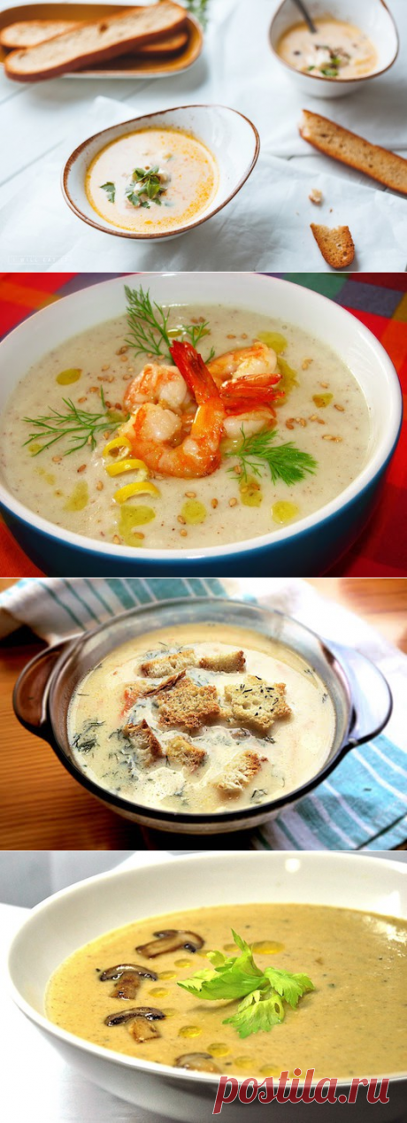 Вкусно и просто: сырный суп;)) 6 вариантов — Вкусные рецепты