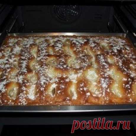 ¡El pastel con las manzanas, como el pastel! - MirTesen