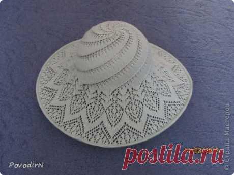Ажурная летняя шляпка | Страна Мастеров