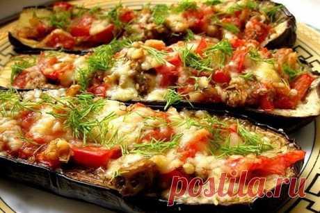 Баклажаны по-итальянски — Вкусная еда