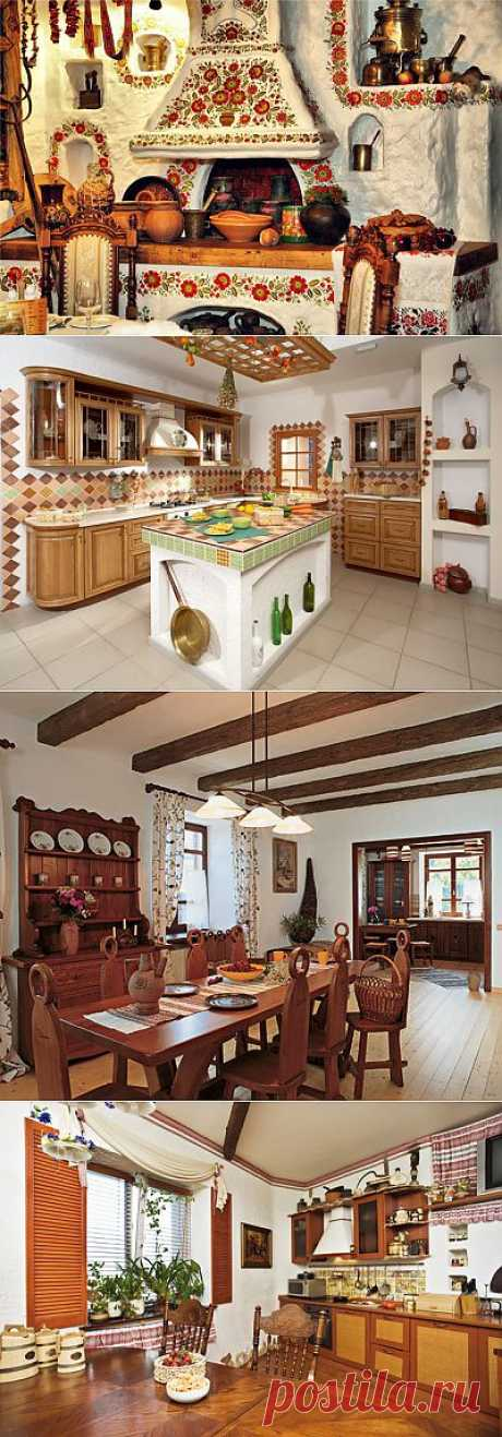 Украинский стиль в интерьере квартир, фото, дизайн
