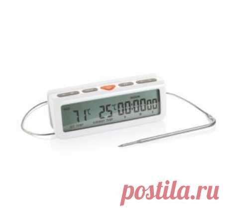 Цифровой термометр для духовки ACCURA, с таймером: купить по выгодной цене в интернет-магазине TESCOMA ®