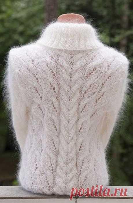 Чудесные узоры для свитеров, жакетов и кардиганов