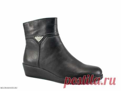 Ботинки женские Марко 35028 Демисезонные ботинки средней полноты на сплошной подошве