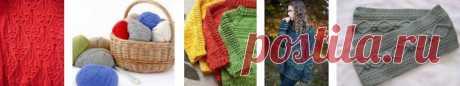 Узор Печворк спицами | Узоры вязания спицами