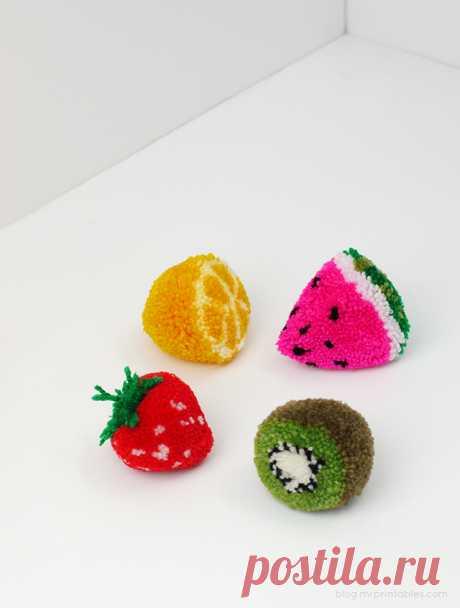 Пом- пон фрукт.