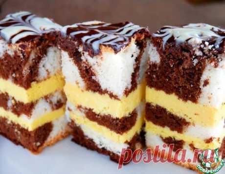 """Торт """"Творожное безумие"""" – кулинарный рецепт"""