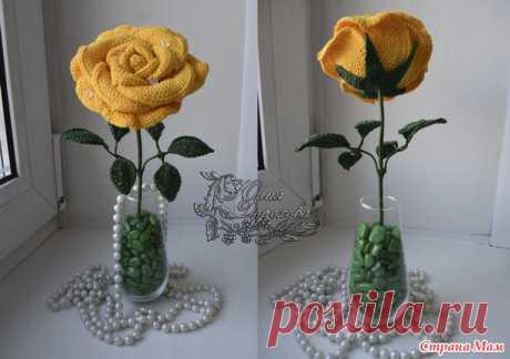 Красивые объемные розы крючком: Дневник группы «ВЯЗАНЫЕ ЦВЕТЫ»: Группы - женская социальная сеть myJulia.ru