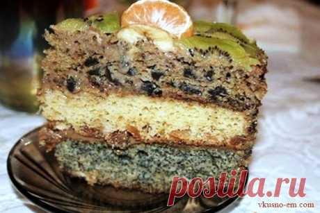 """Торт """"Три богатыря"""" из детства рецепт с фото Очень вкусный торт """"Три богатыря"""" из детства, тот кто когда-либо его пробовал, то стои обязательно попробовать. Давайте рассмотрим рецепт:"""