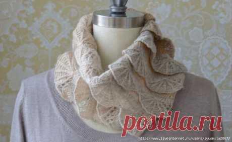 Бактусы, снуды, шарфы от Pam Powers из Калифорнии