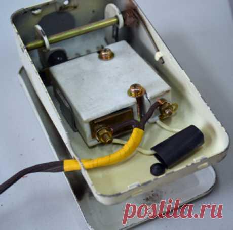 Педаль швейной машинки   Как устроена педаль электропривода швейной машины