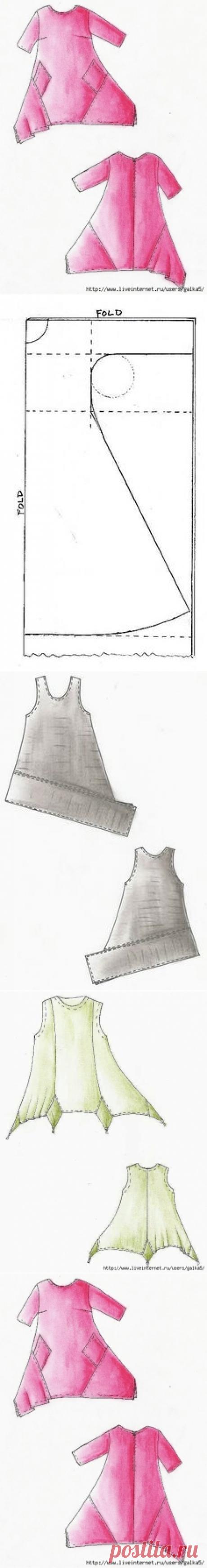 Boho: los patrones de las túnicas, los aumentos, los vestidos
