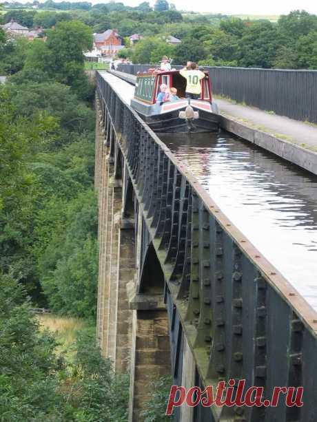 Чудо инженерной мысли: самые удивительные водяные мосты в мире / Туристический спутник
