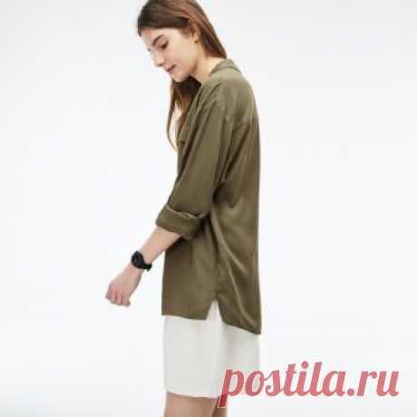 Рубашка Lacoste Loose fit #CF3904 | Интернет-магазин Lacoste