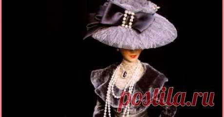 Шляпы и шляпки для кукол своими руками. как сделать, пошить шляпы и шляпки для кукол своими руками