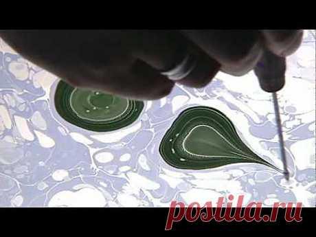 Марморирование или ebru. Рисование по воде | www.hm-school.ru