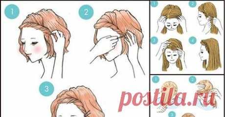 Уникальные 3-минутные прически, о которых должна знать каждая девушка!