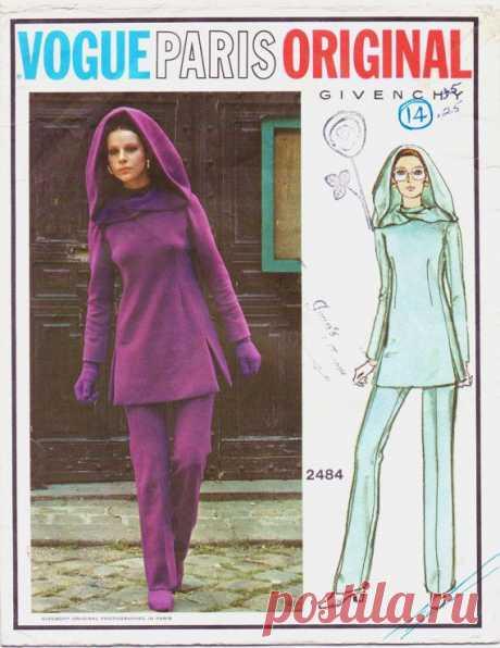 Vintage 70s Vogue Paris Original Pattern 2484 by CloesCloset, $59.00
