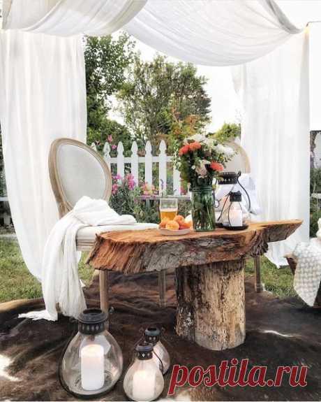 11 идей для украшения дачного участка, которые легко повторить — Дом и Сад