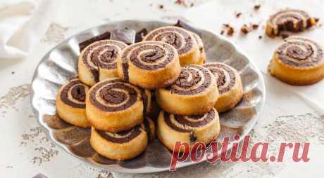 Шоколадно-ванильное печенье. Быстрое и вкусное печенье не оставит равнодушными не только любителей шоколада, оно станет любимым лакомством у всех сладкоежек.