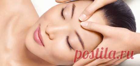 Чистка лица - Выполнение массажа кожи лица