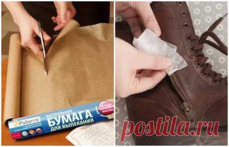 Как остановить протечку в трубах и смазать молнию, или 10 вариантов применения пергаментной бумаги - Квартира, дом, дача - медиаплатформа МирТесен