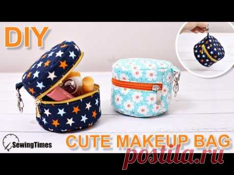 Как сшить милая Косметичка   своими руками Косметичка   Хорошая сумка для подарка [sewingtimes]