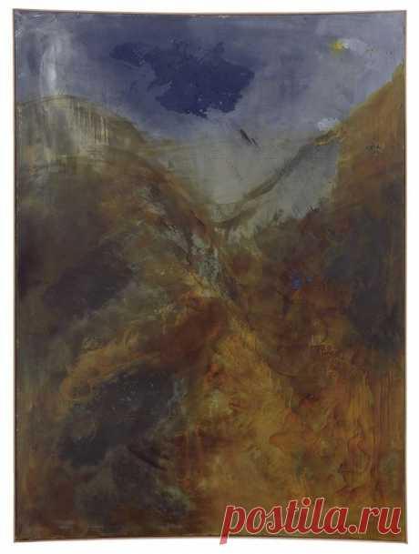 """Зигмар Польке, """"Ночной колпак I"""", 1986."""