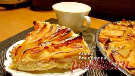 Мятый яблочный пирог - рецепт пошаговый с фото