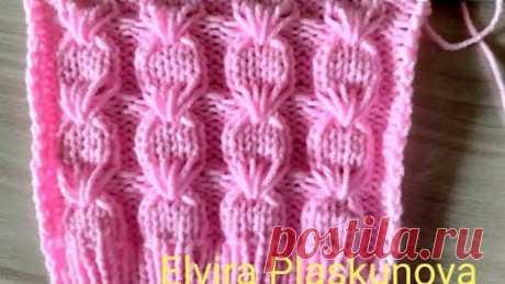 НОВИНКА !!! Косы с вытянутыми петлями для свитера, шапки, кофты, кардигана. Вязание спицами