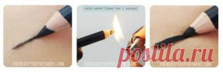 How to make a pencil for eyes is softer? — Useful tips