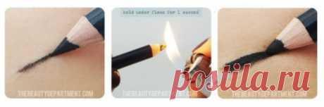 Как сделать карандаш для глаз мягче? — Полезные советы