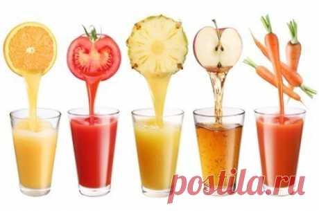 Польза соков — Мегаздоров