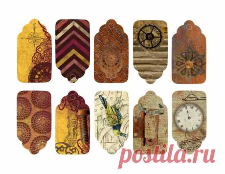 Free-Printable-Steampunk-Gift-Tags.jpg (2560×1979)