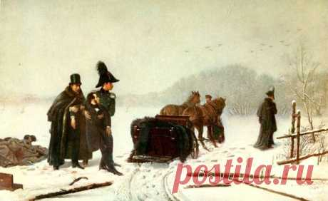 Картина А. Наумова Дуэль Пушкина с Дантесом   Год создания 1884 г.