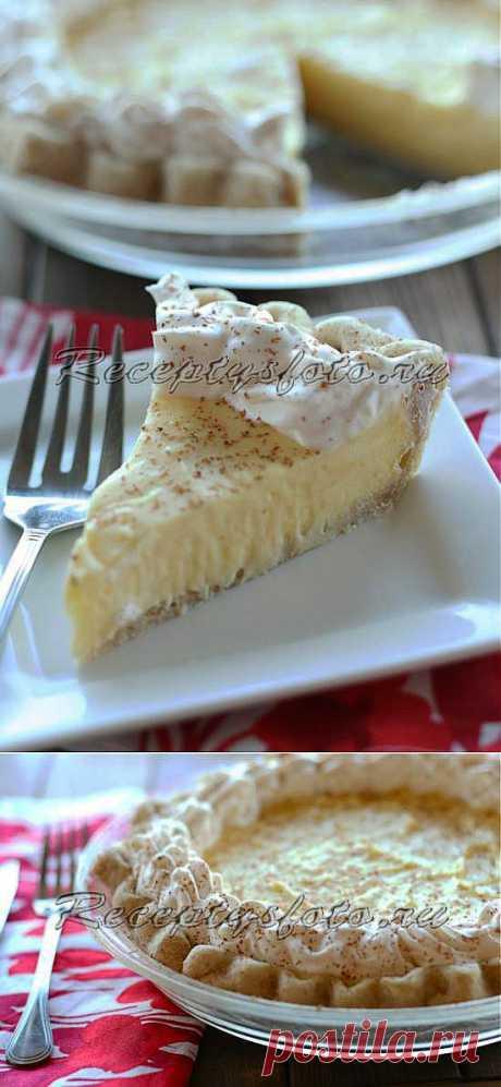 Вкусный пирог с кремом