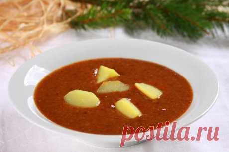 Фруктовый суп из сухофруктов с картофелем – пошаговый рецепт с фото.