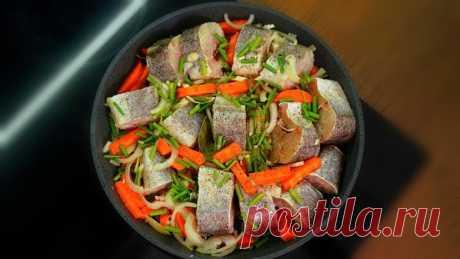 Рыба как раки! Как вкусно и просто приготовить минтай или хек