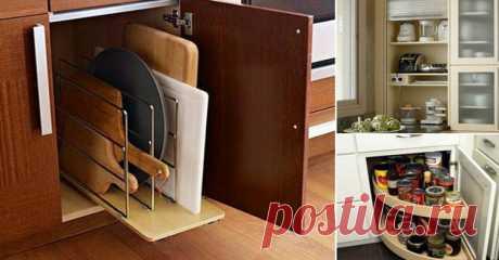 15 практичных идей для хранения кухонной утвари — I Love Hobby — Лучшие мастер-классы со всего мира!