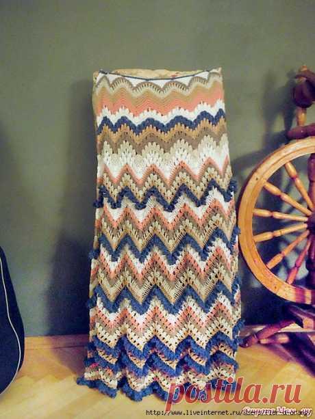 Длинная юбка-зигзаг в стиле Миссони - Буськины записки — LiveJournal