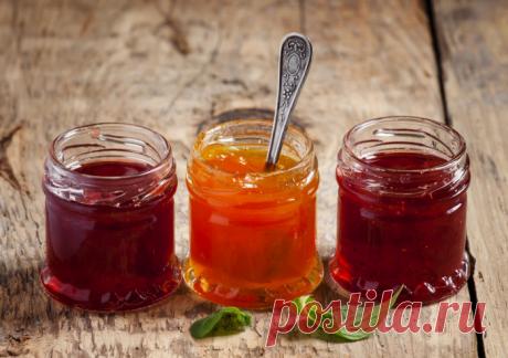16 recetas de la jalea para el invierno