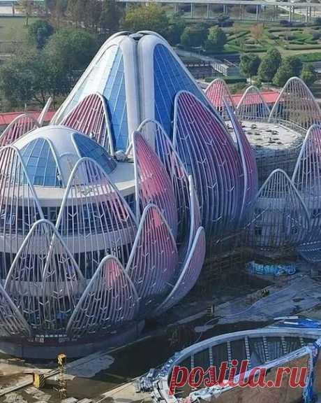 Здание-Лотос, Чанчжоу, Китай