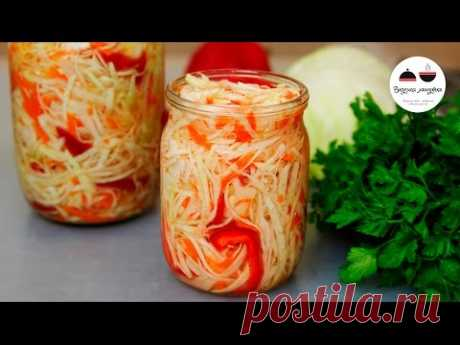 Pickled cabbage FAST Tasty salad for every day! Pickled Cabbage Fast