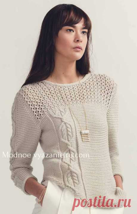 Female a jumper spokes - a super selection - Klubok - Modnoe Vyazanie.ru.com