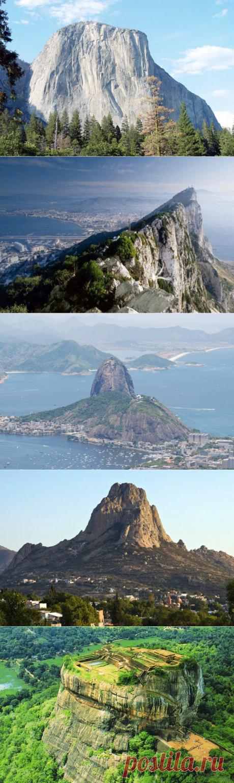 Монолиты Земли: каменные достопримечательности / Туристический спутник