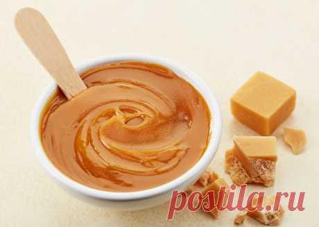Домашний карамельный йогурт